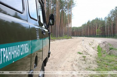 Фото: Number of Belarusian border violators halves over past month
